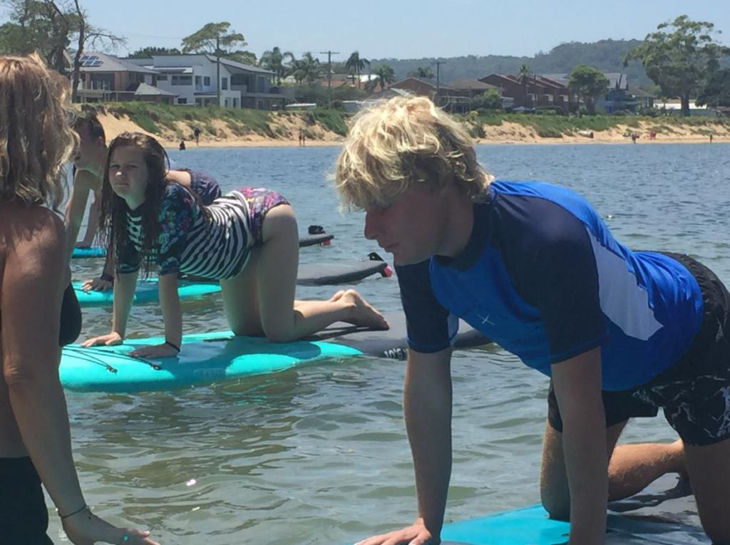 Guide Dogs Stand Up Paddleboard Beach Party